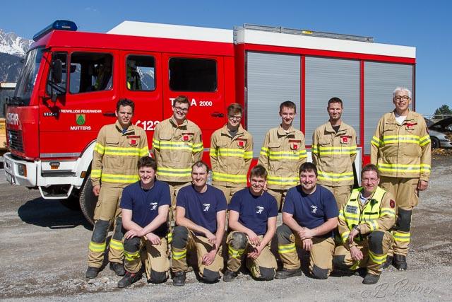 Gruppenfoto unserer Teilnehmer