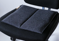 Sitzkissen Bürostuhl #unichrome anthracite/Flowmo Pad