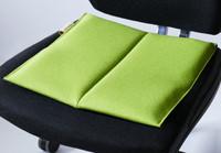 ergonomisches Sitzkissen Bürostuhl #unichrome lime/Flowmo Pad