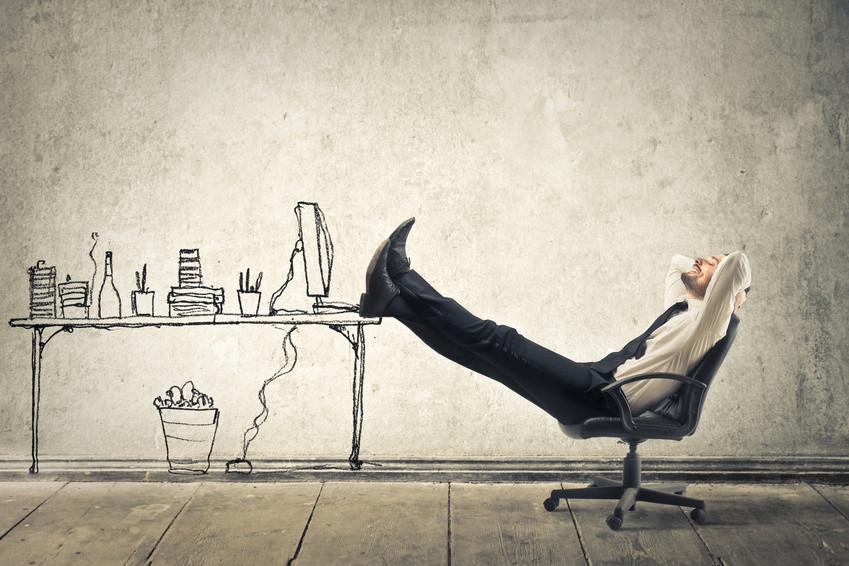 mal richtig Zurücklehnen und Anlehnen als immer in der gleichen Position zu sitzen