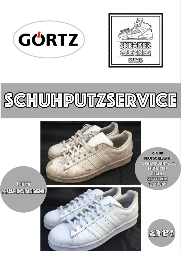 Get your shoes clean - Sneaker-Cleaner.com deine Sneaker-Reinigung!