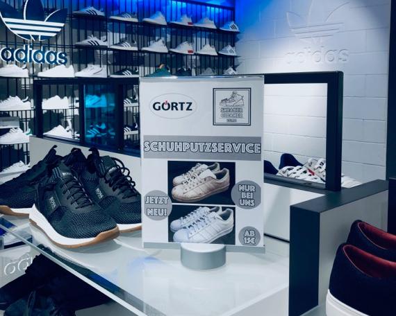 Wella Schwarzkopf Friseur Messe Event Sneaker Cleaner Service