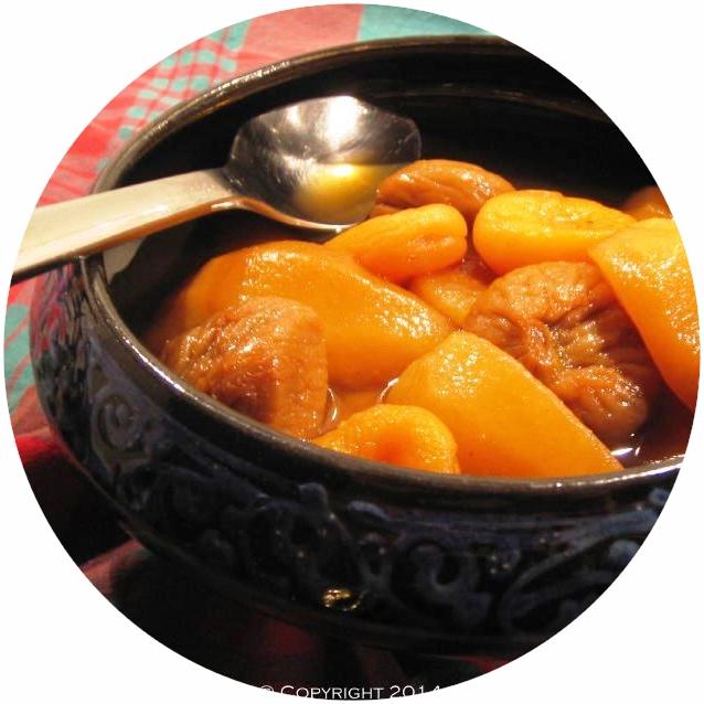 Tajine de fruits au thé Roiboos
