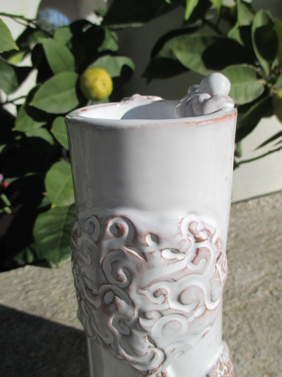 Vaso in ceramica Raku. Le Terre di Rò