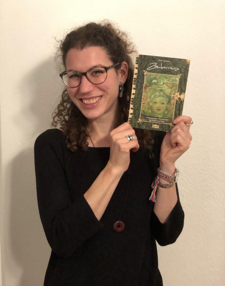 ...mein drittes Buch das erste Mal in den Händen, Mai 2019