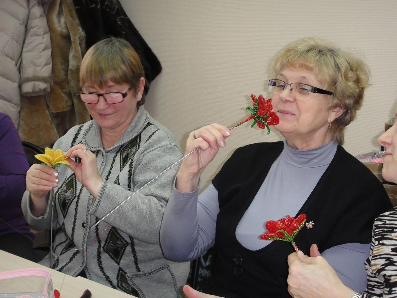 02.02.13 - Урок по сборке классической розы