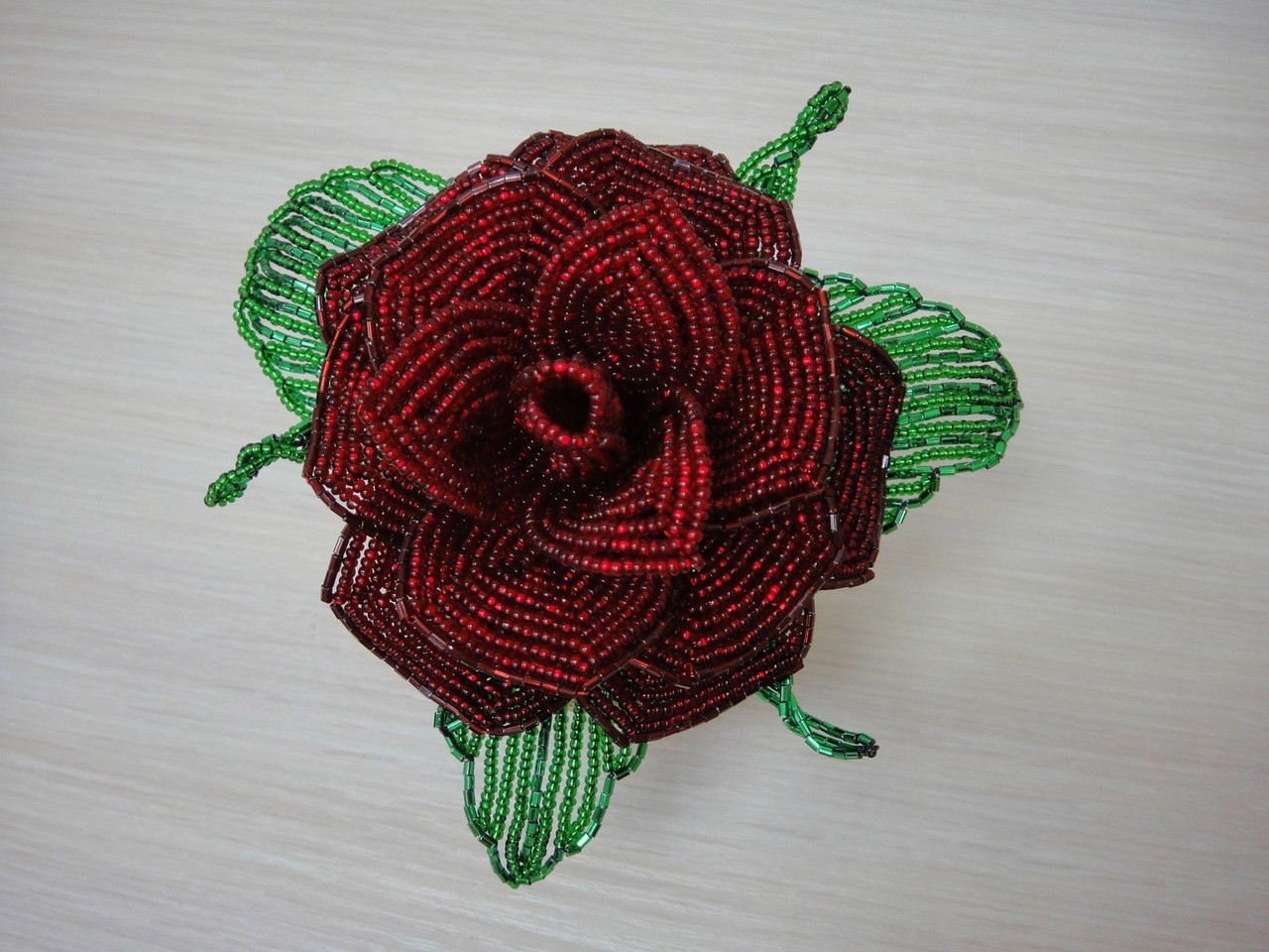 Роза Натальи Бычковой - вид сверху