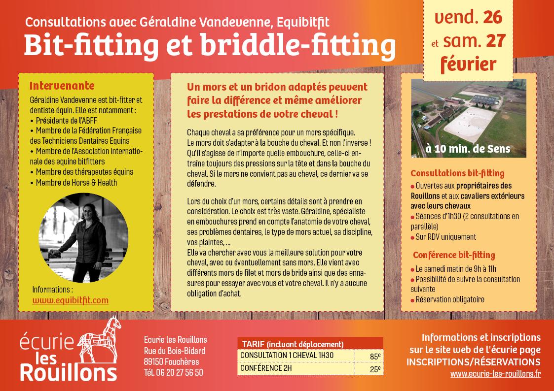 Bit-fitting aux Rouillons