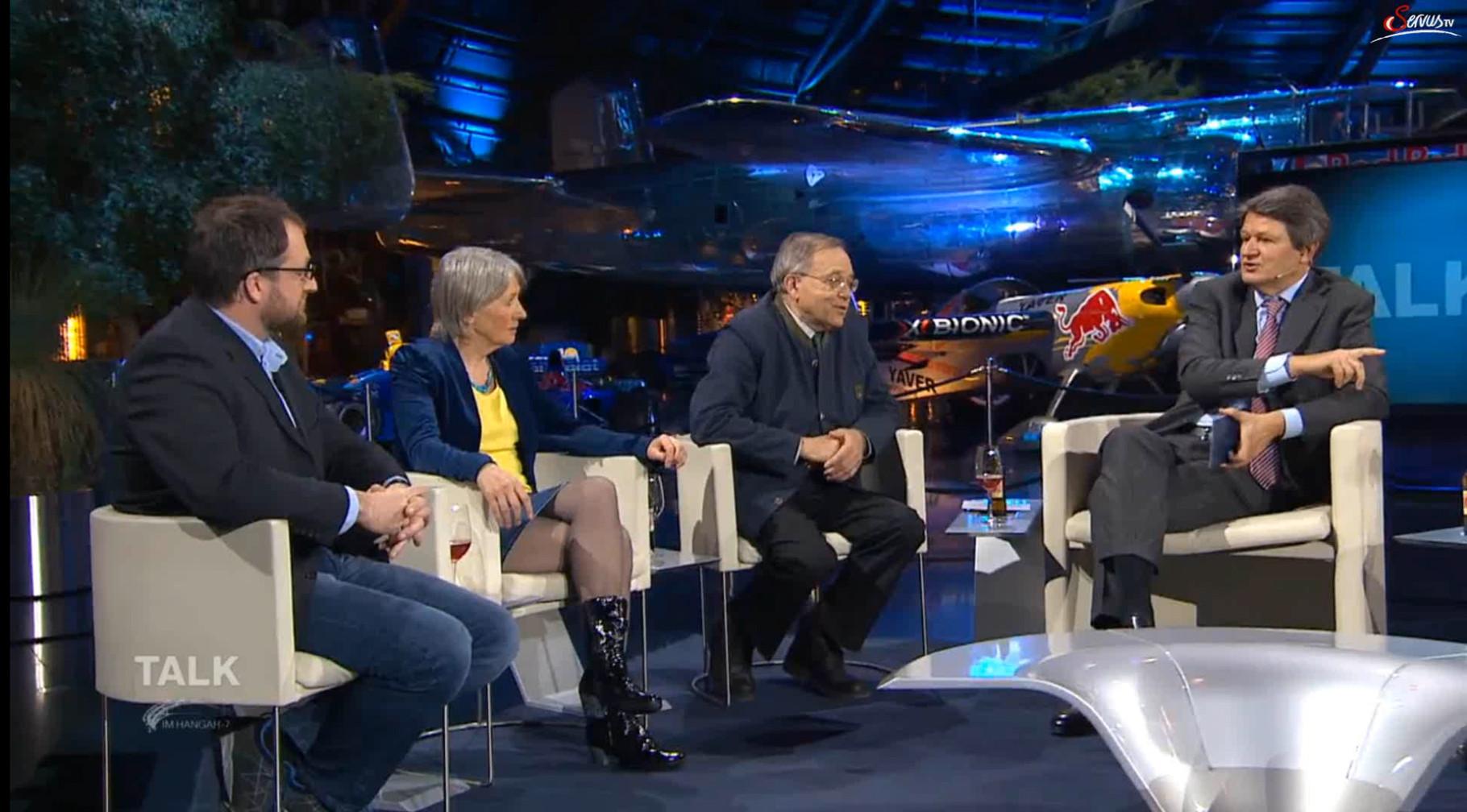"""Zu Gast bei """"Talk im Hangar7"""""""