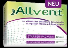 Allvent ® Starter-Packung kaufen und 15% sparen!