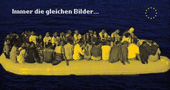 """BEWEGUNG NURRR & Robert Sokol, """"Immer die gleichen Bilder"""", 2013"""