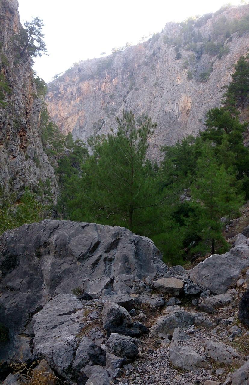 les gorges d'Agia Irini