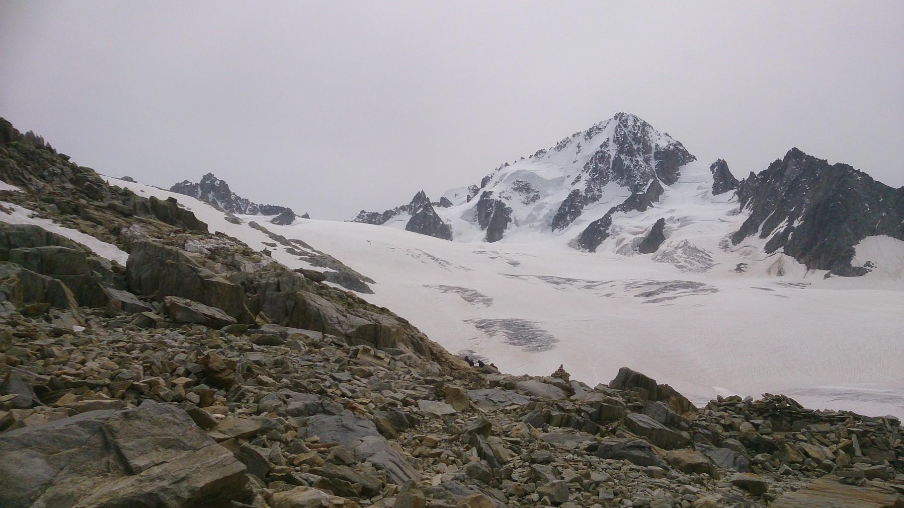 Glacier du Tour - Montée à Albert 1°