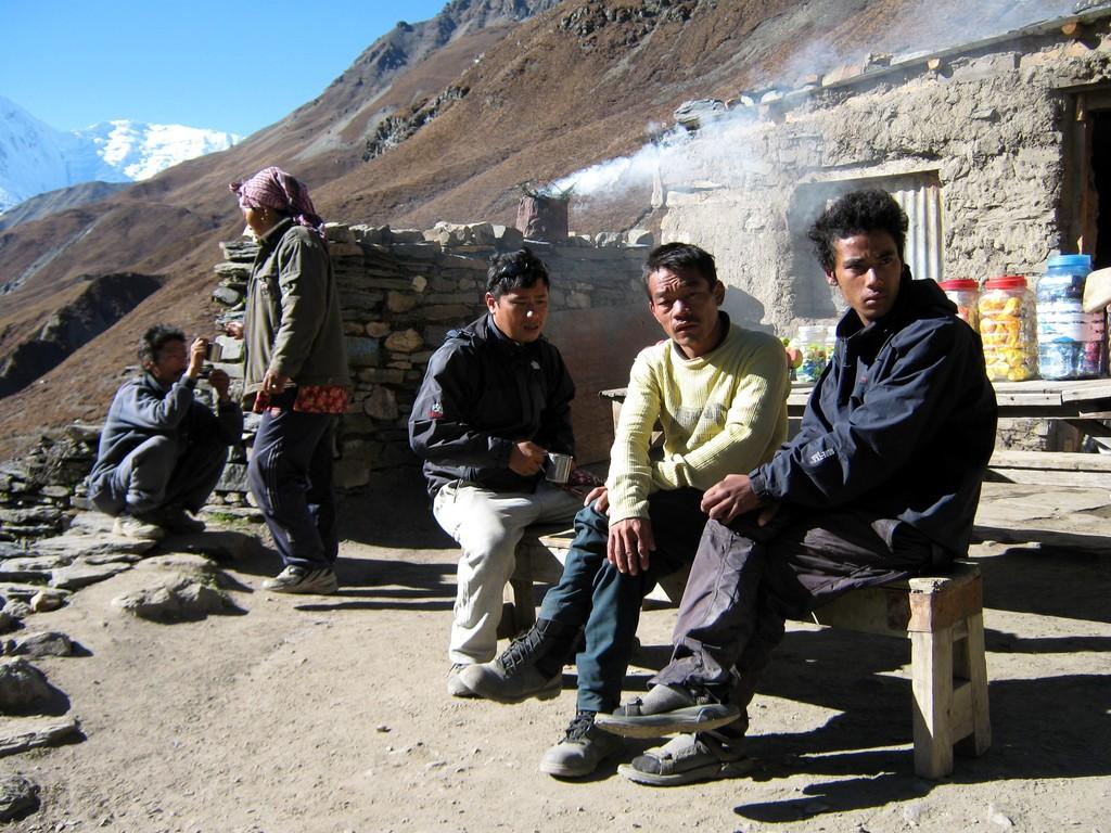 maison de thé - Thorong Pedhi