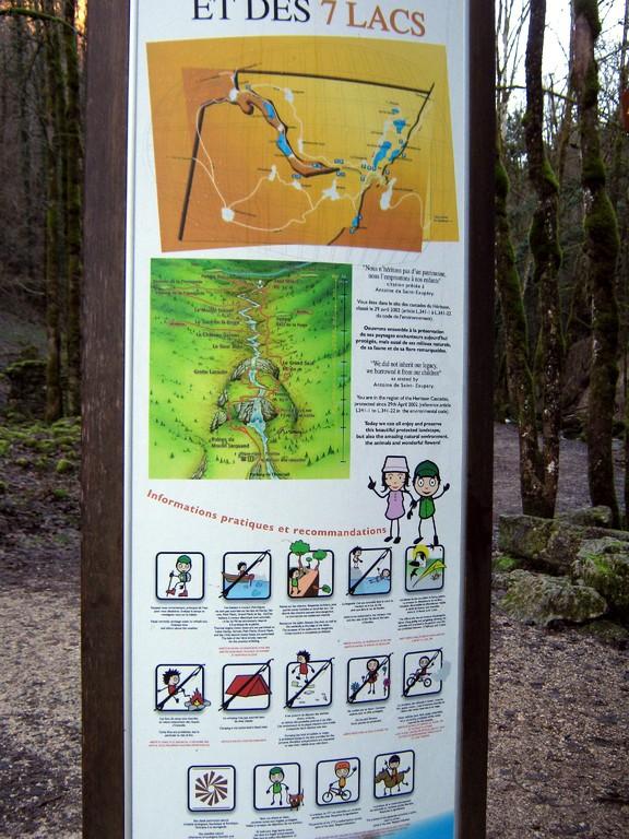 """le panneau """"site naturel protégé"""" !!!"""