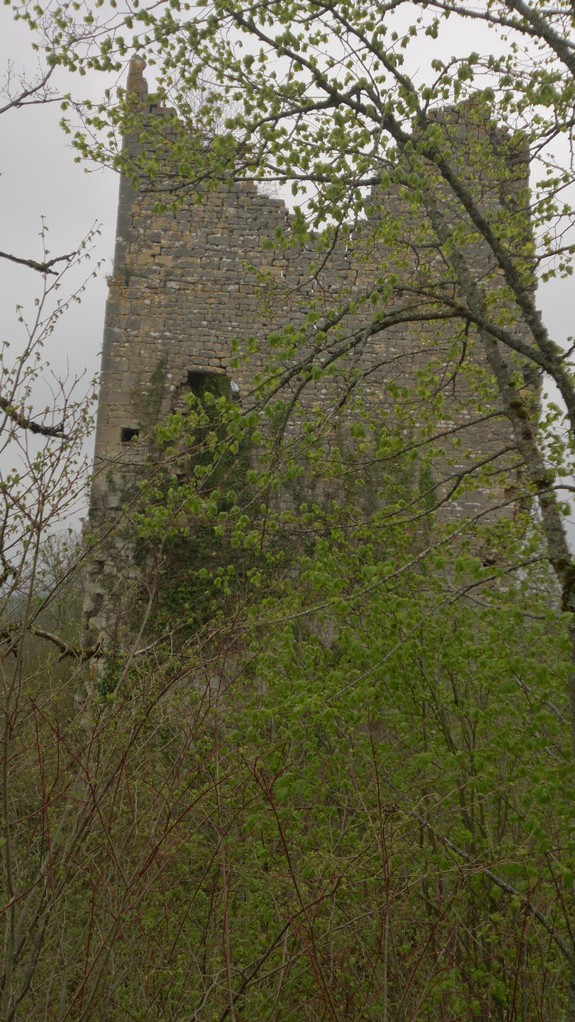 la tour templière de Dramelay