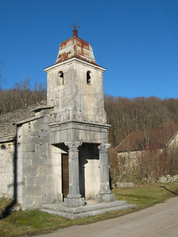 la chapelle de la Fruitière (Ménétrux en Joux)