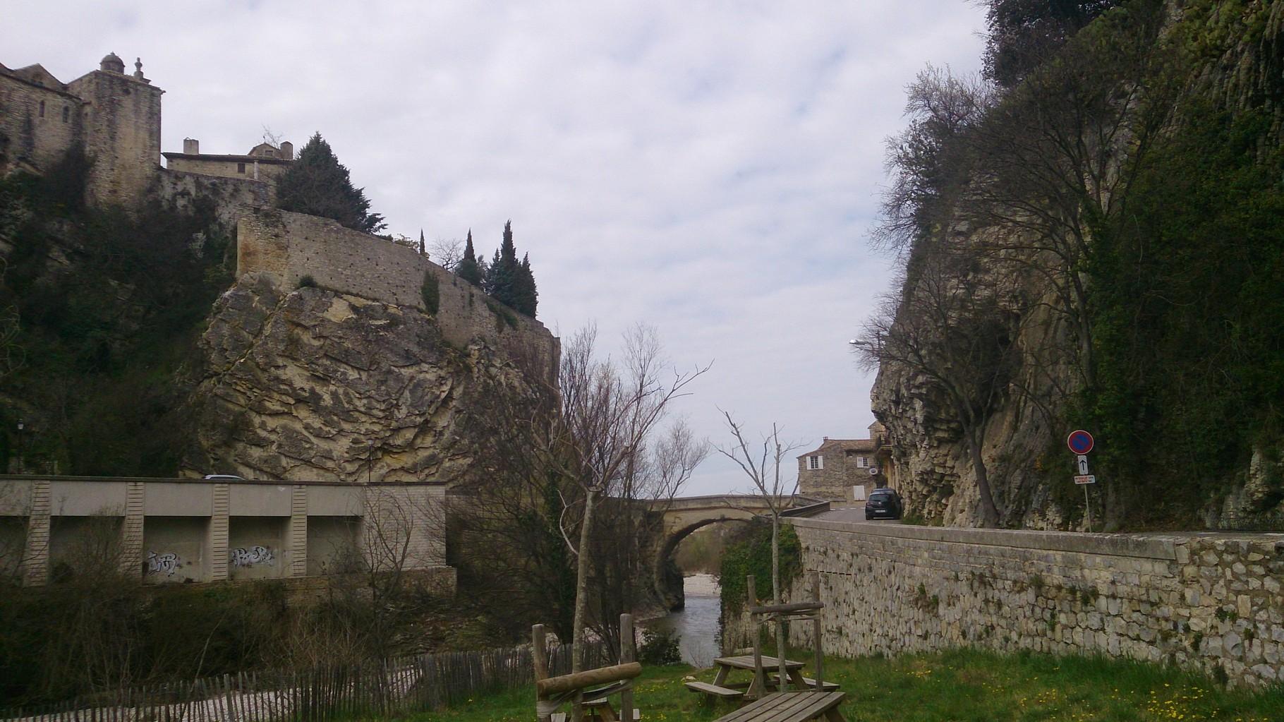 Vaison la Romaine - la ville médiévale