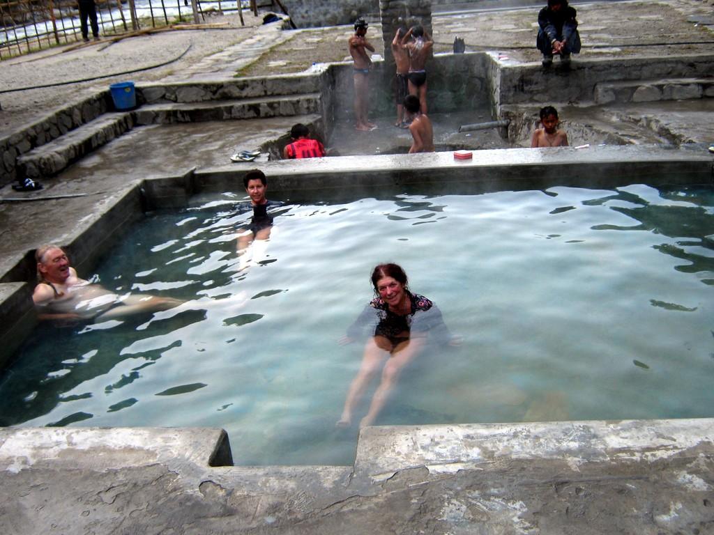 les bains chauds