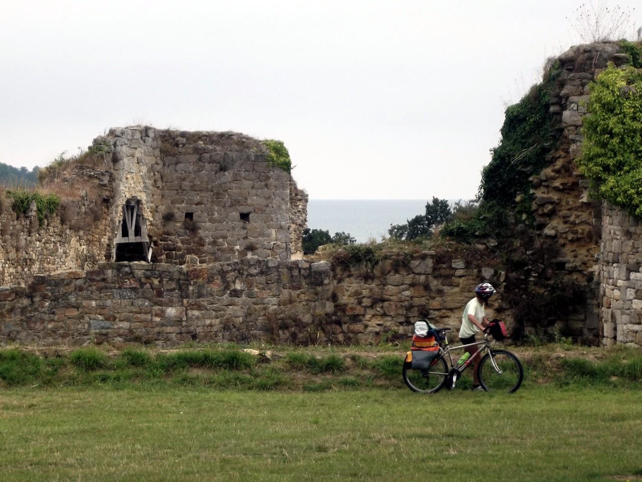 les ruines du chateau du Guildo