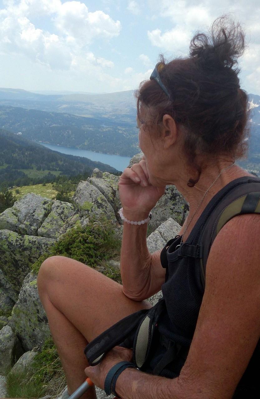 Depuis le LLiaret - vue sur le lac des Bouillouses
