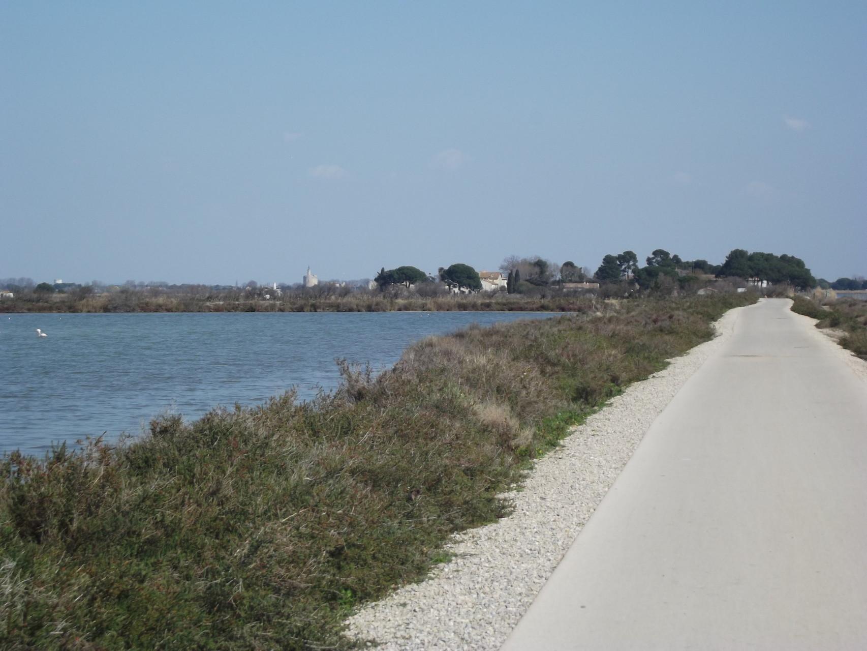 voie cyclable Aigues Mortes
