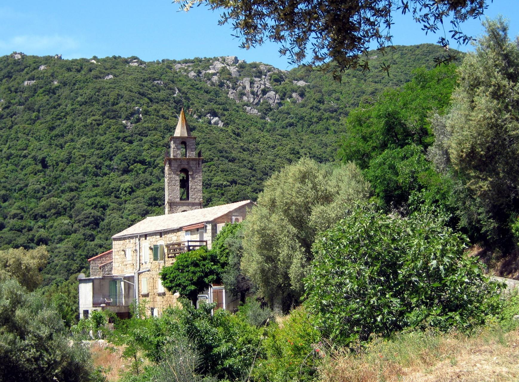 en route vers Sartène