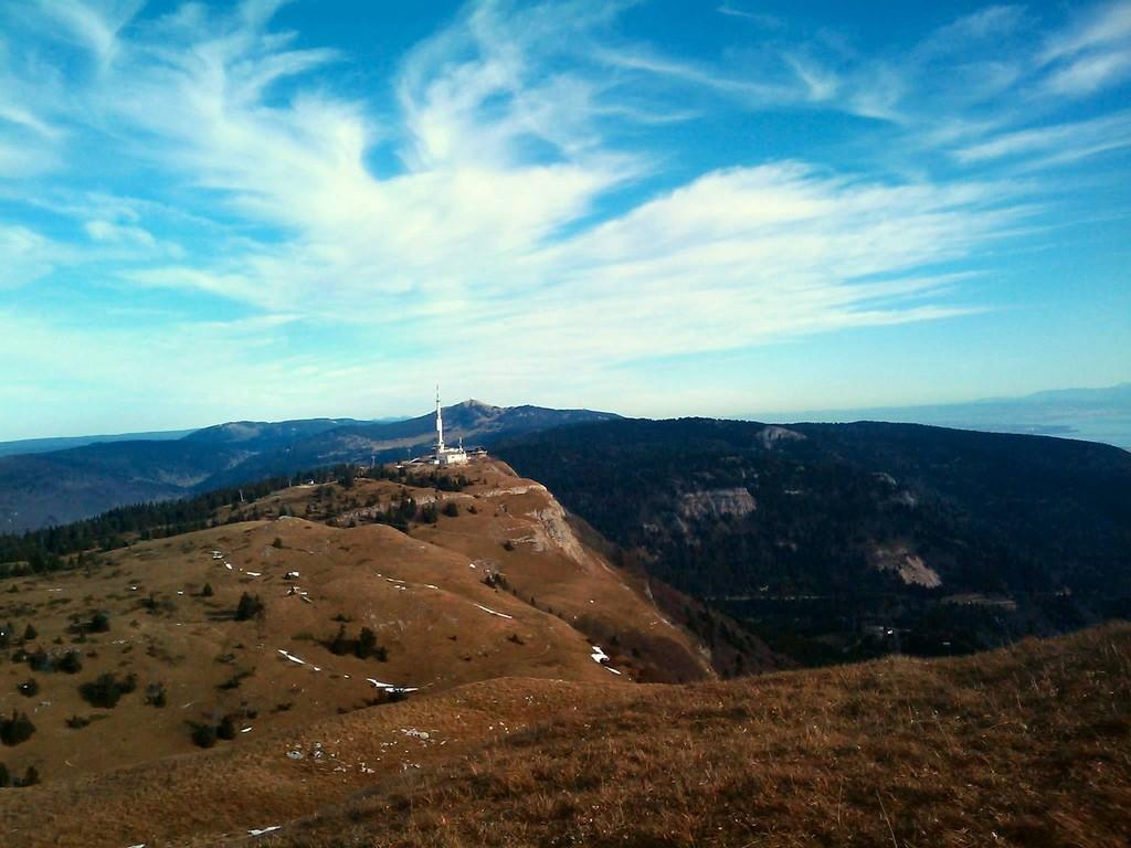 du grand Montrond, vue sur la chaîne (côté Sud)