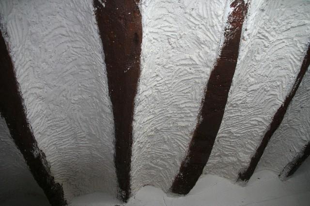 détail de plafond