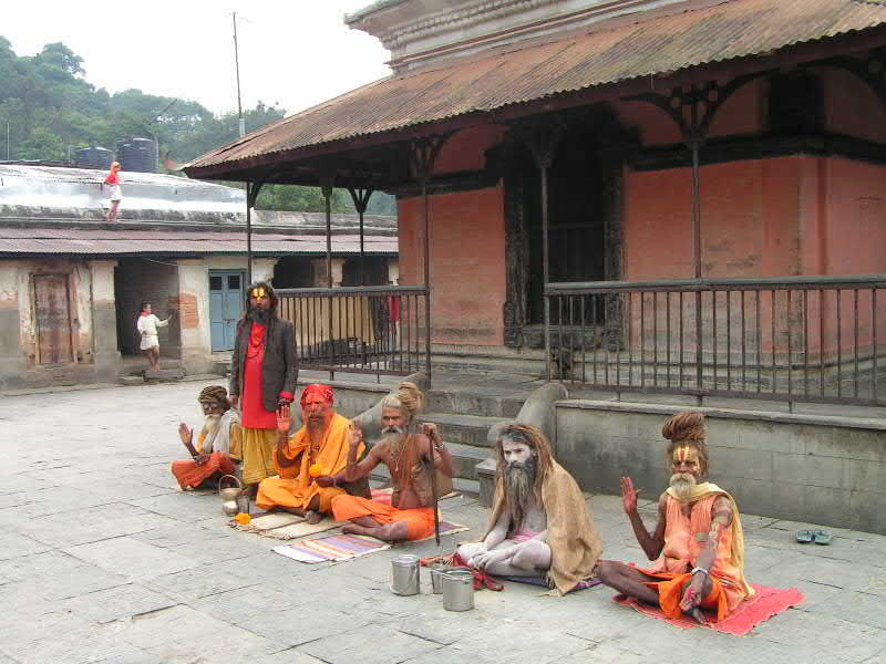 hindouistes : mendiants