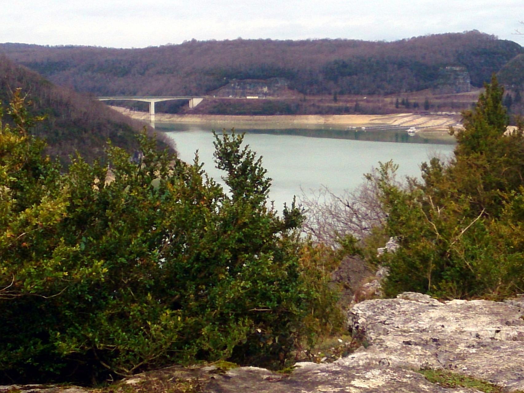 retour dans le Jura : le pont de la Pyle