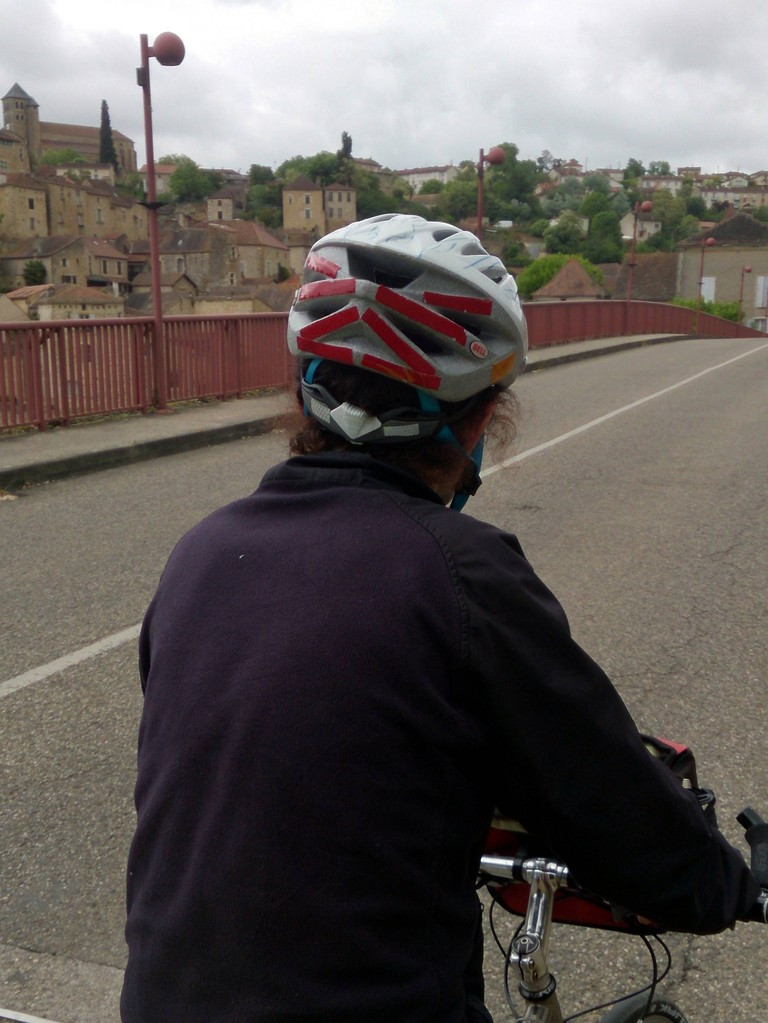 arrivée à Puy l'Evêque