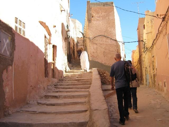 dans les rues de la vieille ville