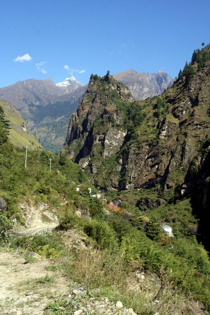 """sur la route du """"tour des Annapurnas"""""""