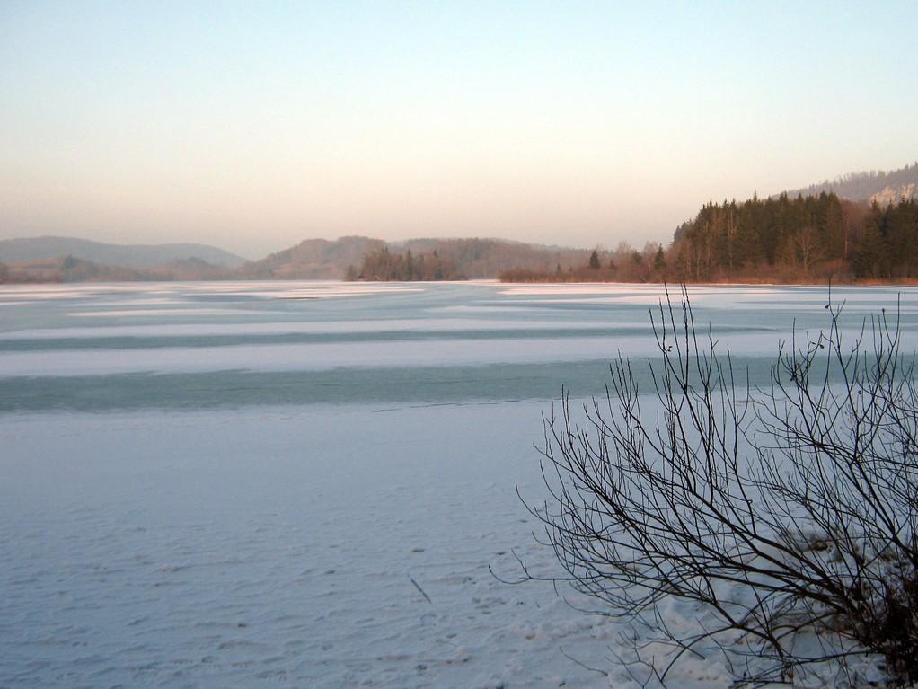 lac d'Ilay, fin d'après midi