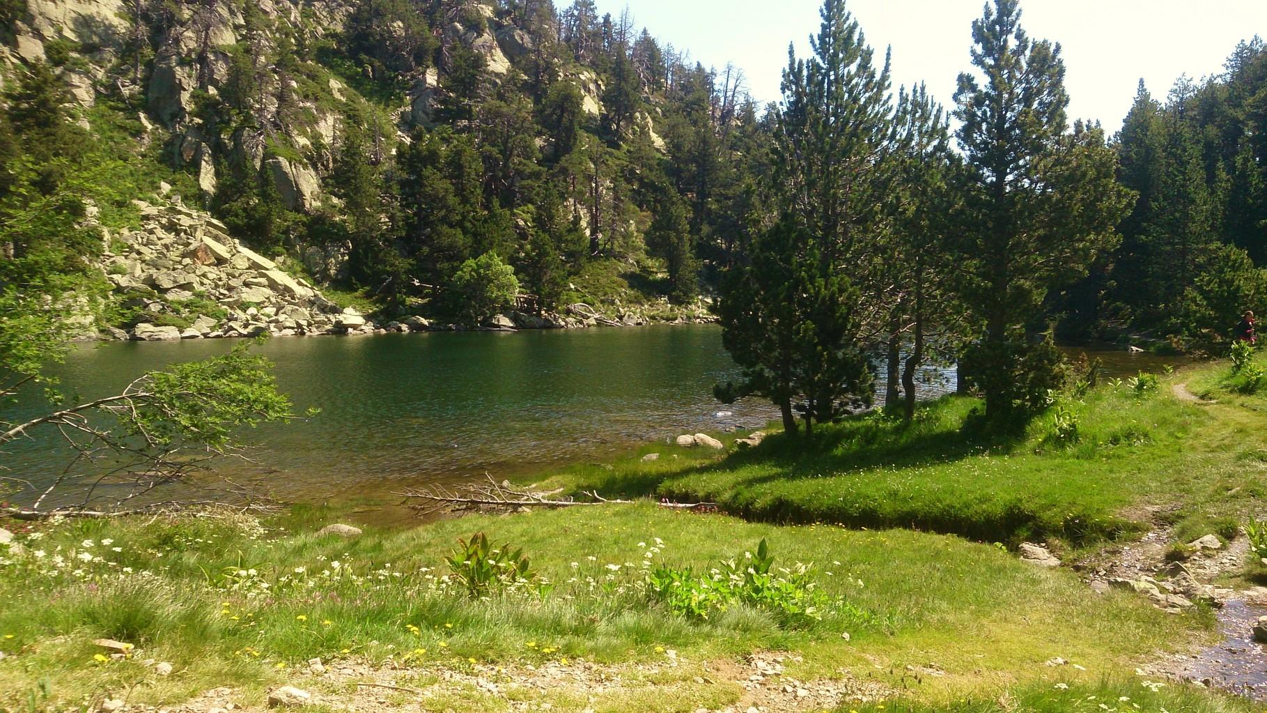 Le lac de Balmette