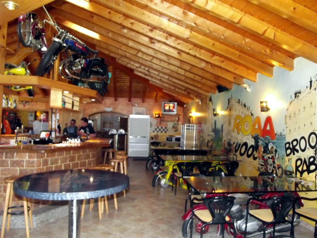 le bar des motards