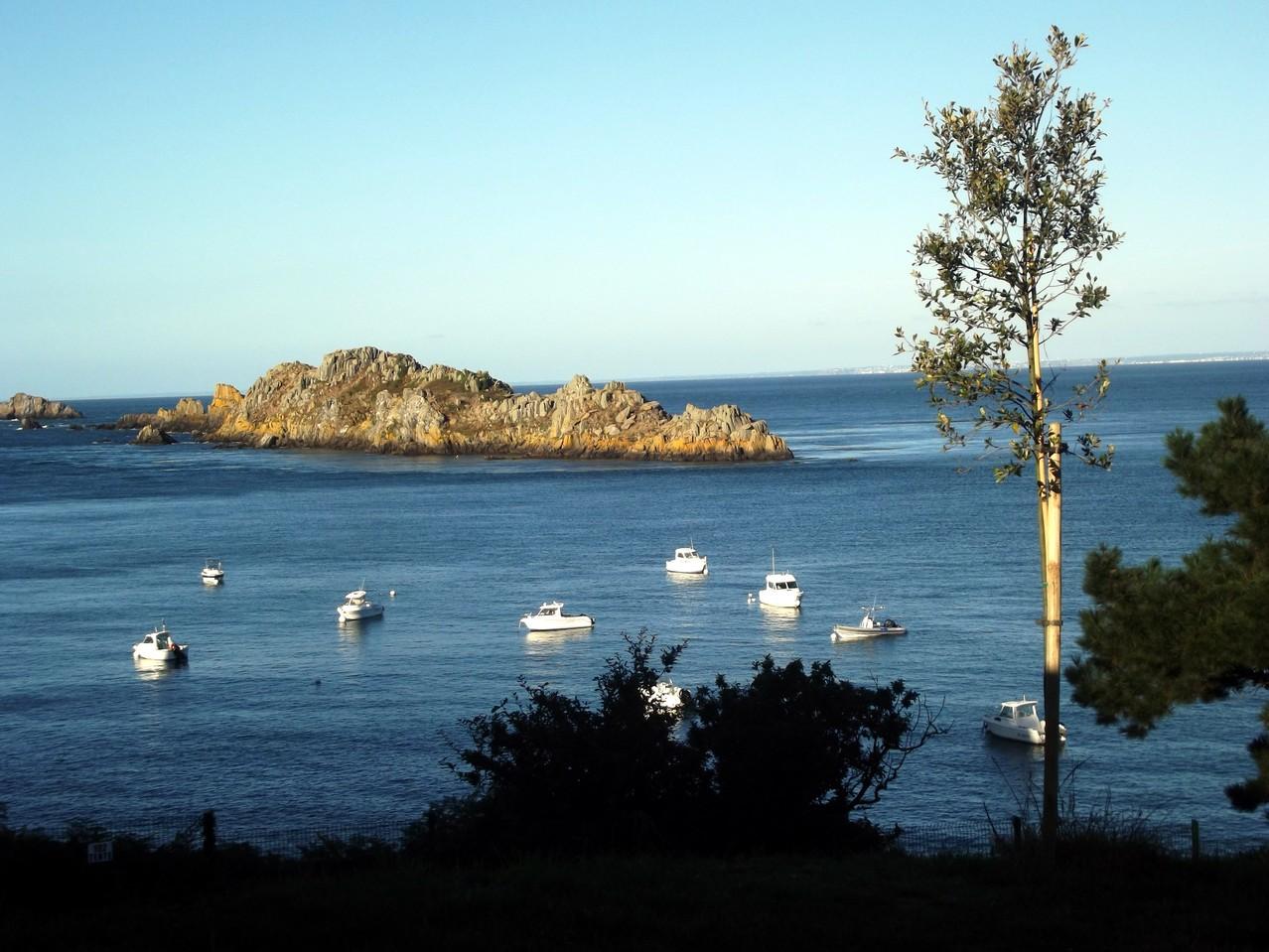 Retour à CANCALE et dernière vue sur la mer ...