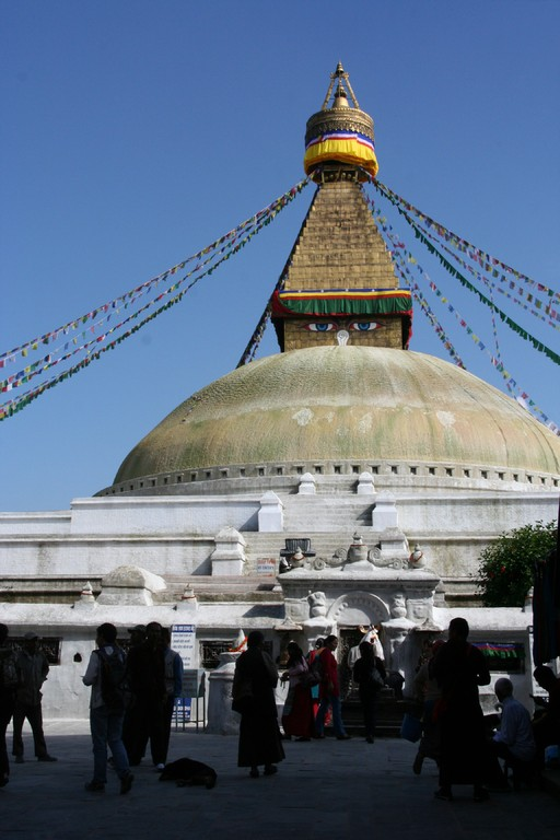 Katmandou - BODANATH le stupa