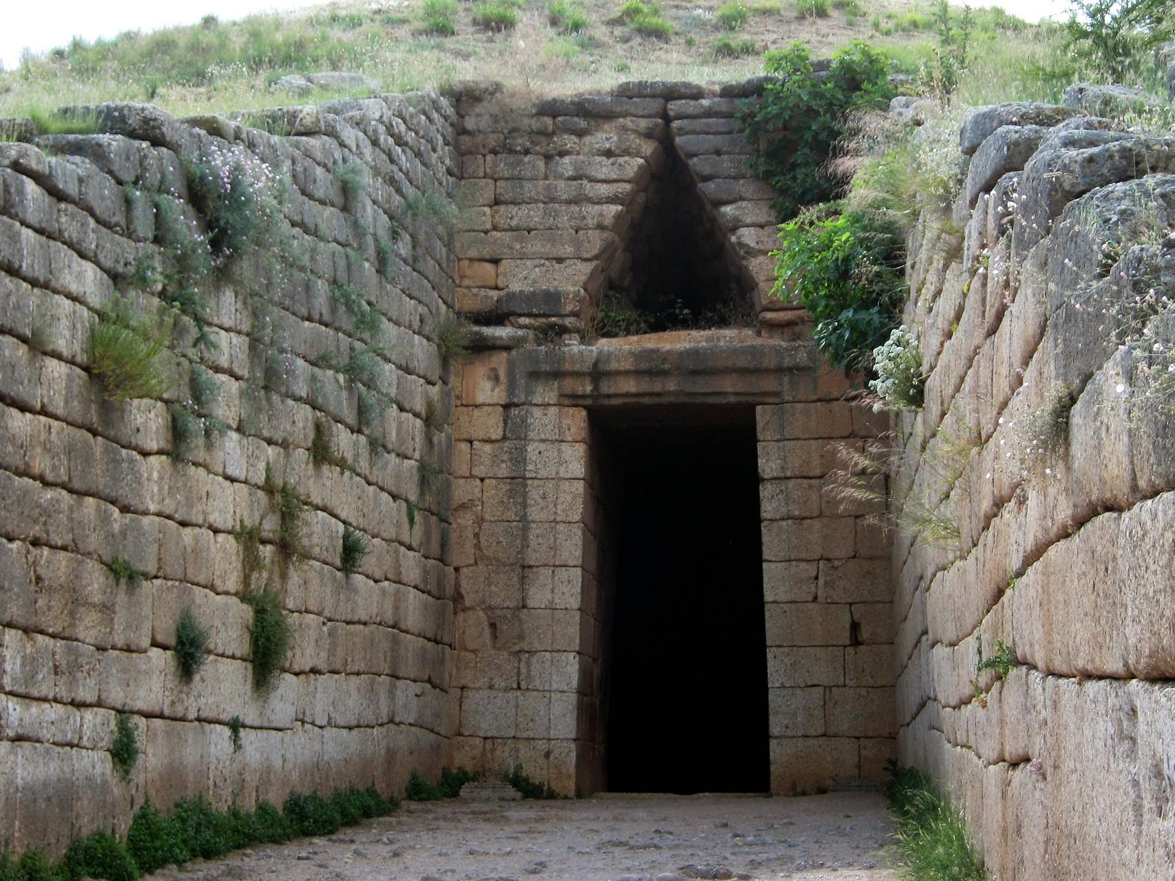 """la présumée """"tombe d'Agamemnon"""