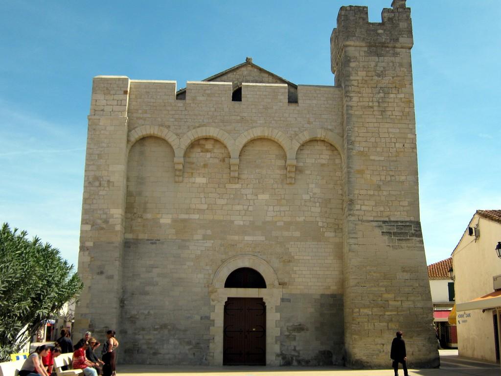 l'église des Saintes Marie
