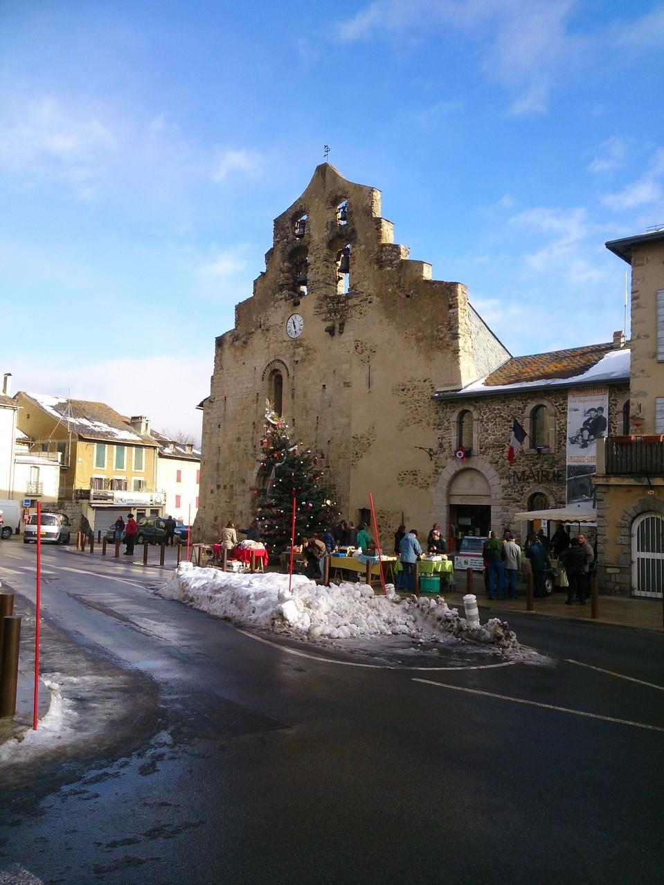 l'église de Formiguères