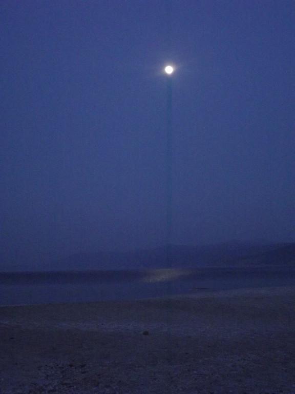 bivouac au clair de lune ...