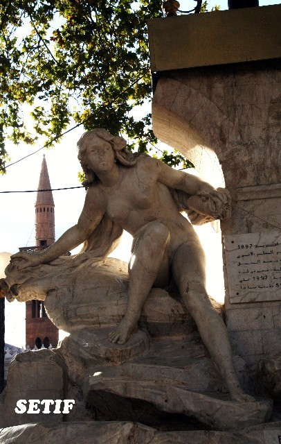 la statue de Sétif