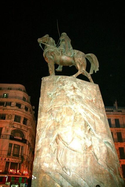 ALGER la statue d'ABD EL KADER