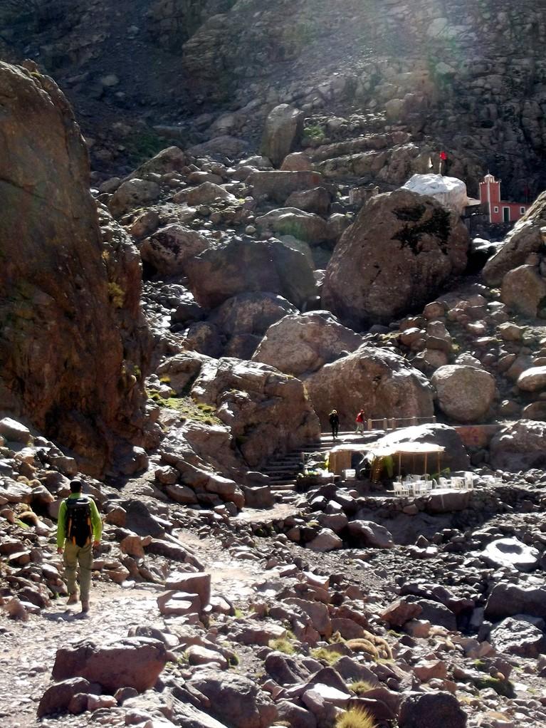 dans la montée au refuge : le tombeau
