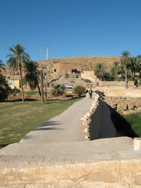 le barrage de BENI ISGEN