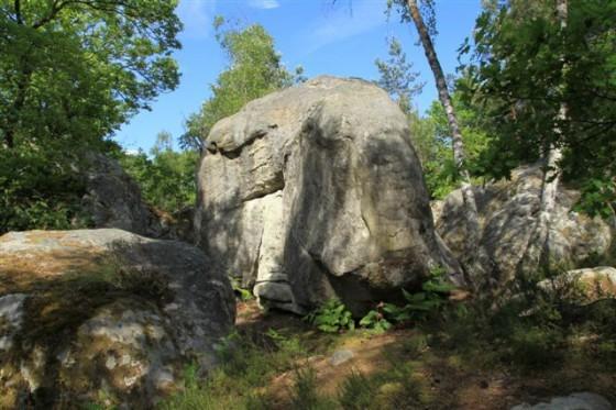Les rochers du général