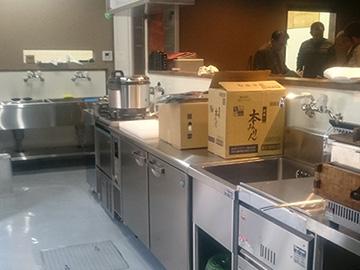 店舗厨房リフォーム