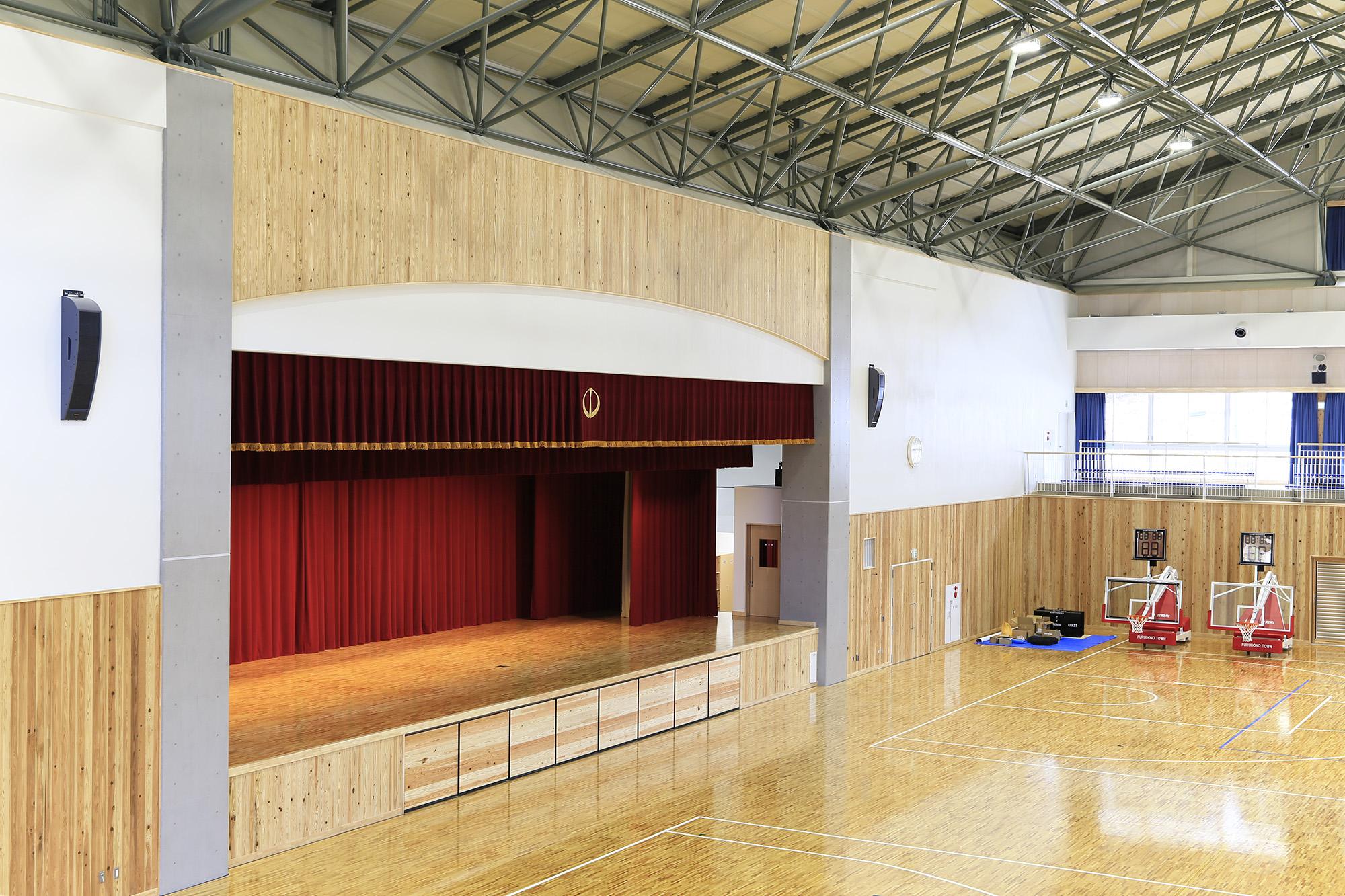 福島県古殿町-古殿町民体育館-